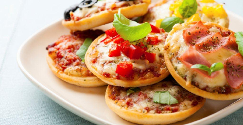 mini, pizza, recept, kuvar, hrana, picerija