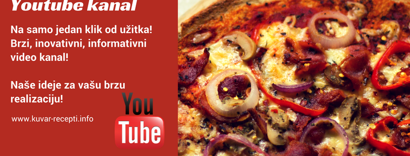 recepti, kuvar, video, youtube